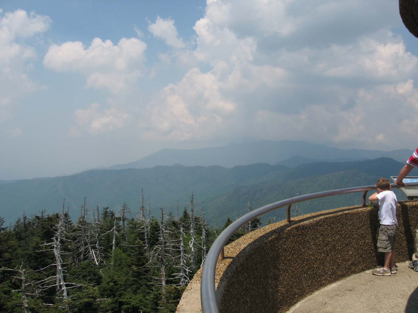 Top of Clingmans Dome