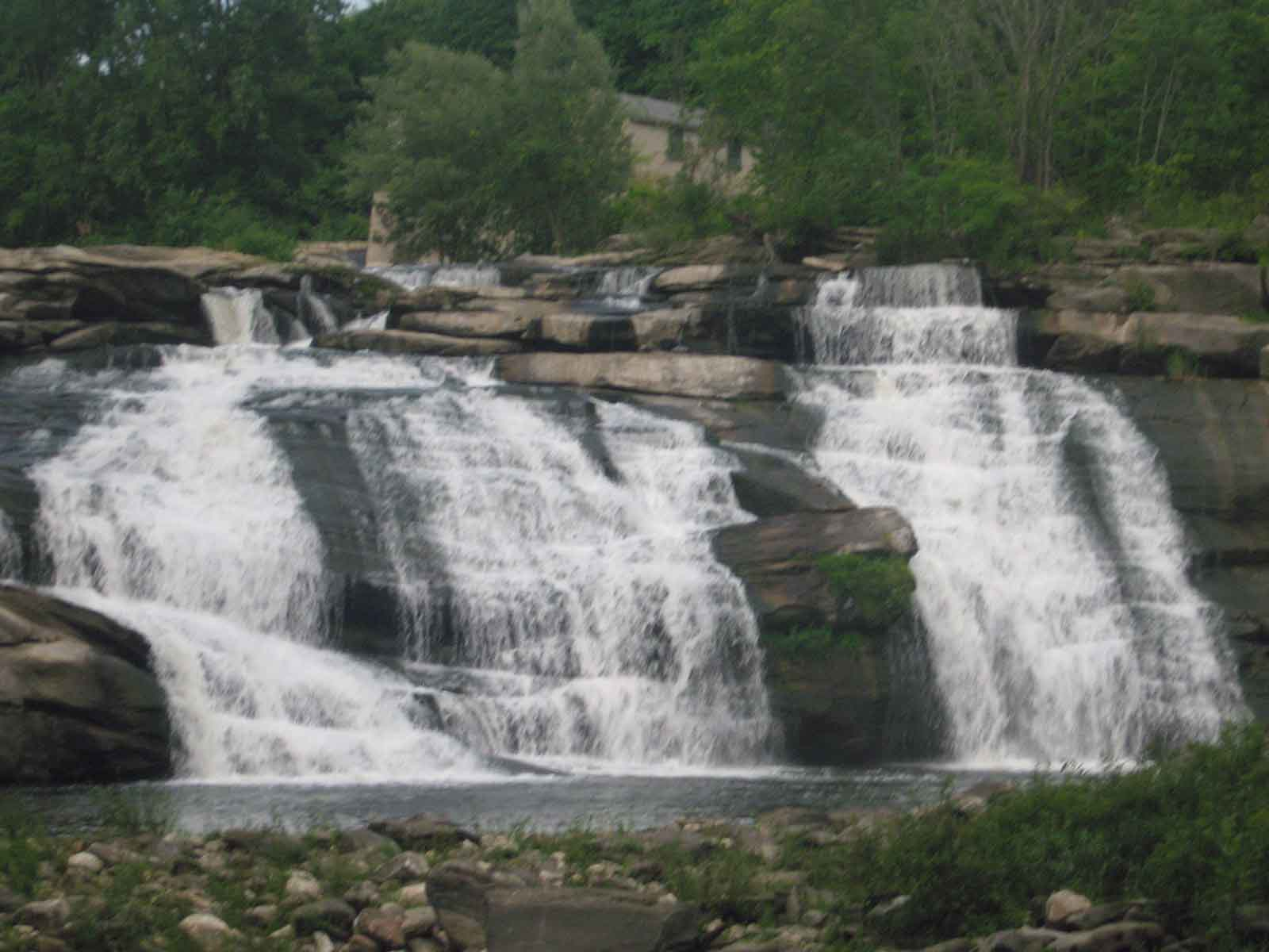 Great Falls. Its a great waterfall after such a heavy rain.